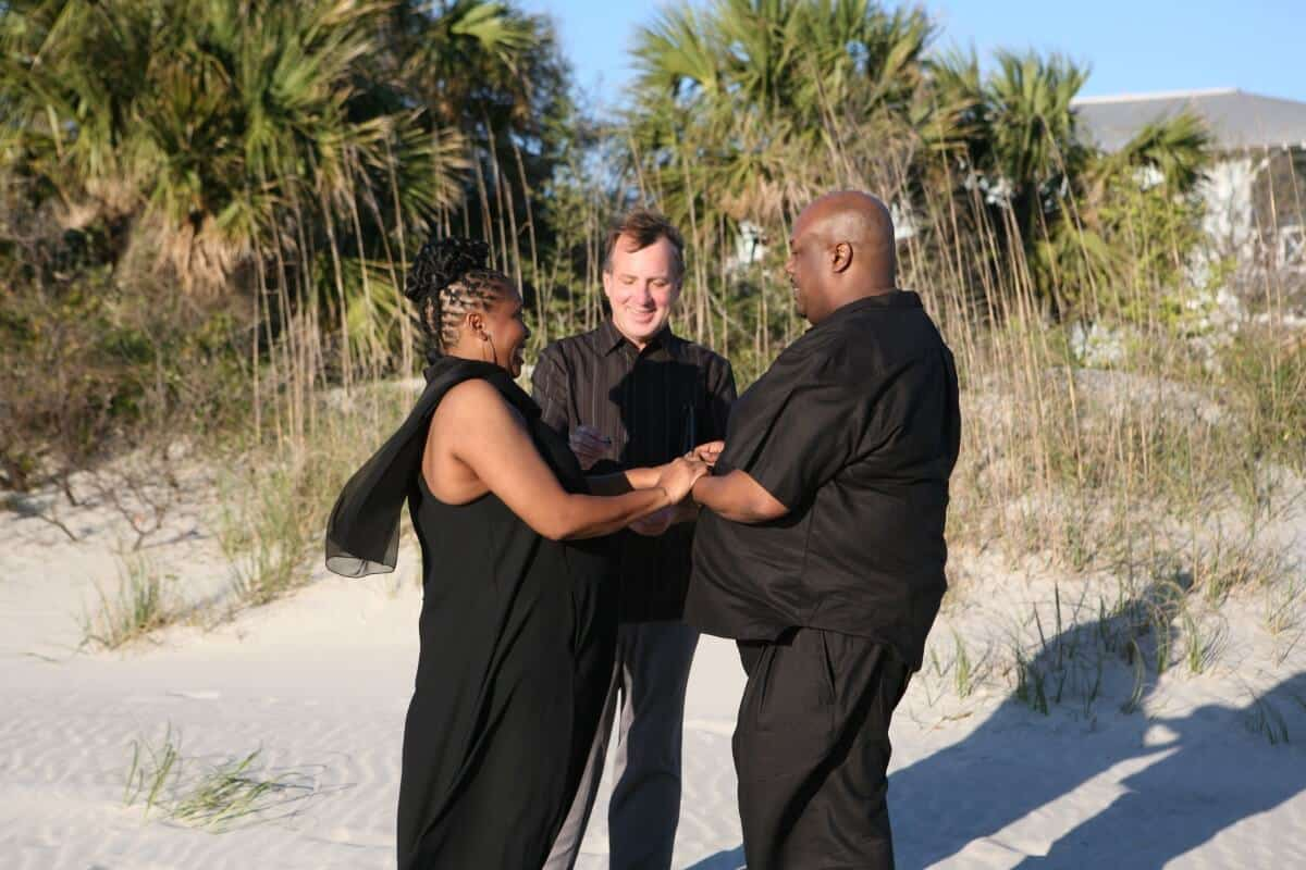 Traditional Wedding Wedding Officiant tybee island
